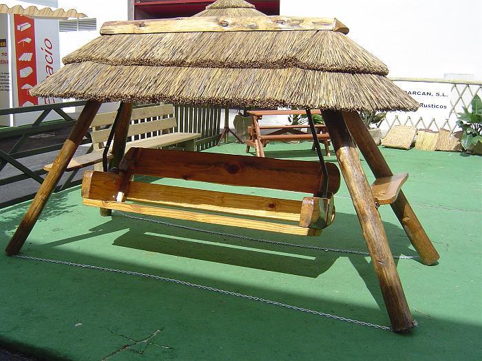 Tejados r sticos tejados r sticos vegetales for Balancines para jardin
