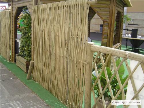 Vallados r sticos de madera tejados r sticos vegetales for Tejados de madera rusticos